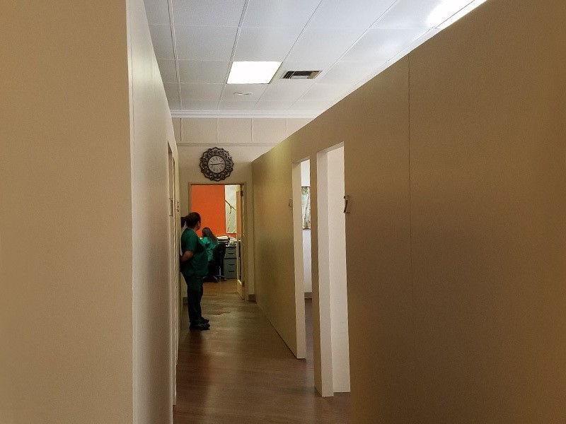 Temporary Office Walls